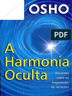 A Harmonia Oculta - Osho