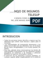 Insumos II Sesion Codex, Fao y Equipo Inocuidad
