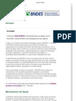 Inovação - BNDES