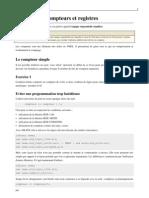 TD3 VHDL Compteurs Et Registres