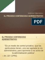 El Proceso Contencioso -Administrativo-[1]