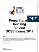 y 11 Subject Revision Guide 2012