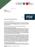 LFB -Wolfgang Tiefensee- Konzessionsrichtlinie