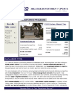 Americo Opportunity Fund Newsletter q 12013