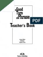 A Good Turn of Phrase Teacher's Book