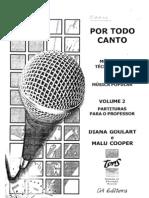 Por Todo Canto - Vol. 2 - Partituras Para o Professor