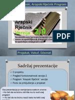 Arapski rječnik prezentacija