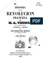 Historia de La Revolucion Francesa - Thiers