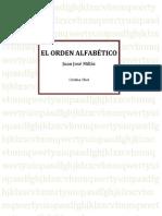 El Orden Alfabetico. Lectura Verano