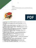 Dezvoltare personală - Bibliografie