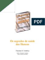 OS SEGREDOS DE SAÚDE DOS HUNZAS