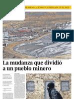 La mudanza que dividió a un pueblo minero (I)
