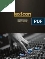Lexicon PCM Native Manual