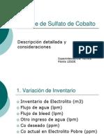 Balance de Sulfato de Cobalto Version 3