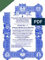 Convocatoria cultos 2013 Quinario