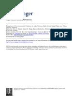 Mitigation of Environmental Problems PDF