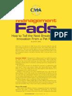 Management Fads