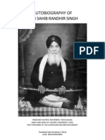Autobiography of Bhai Sahib Randhir Singh Ji
