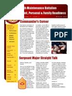 4th Maintenance Battalion Newsletter - Winter2013