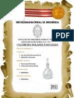 Informe Fisico Quimica II - Volumenes molares parciales