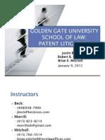 2013 01 09 GGULS PAT LIT - Introduction (Class 1)