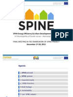 SPIN-Energy Efficiency & Urban Development Planning