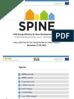 SPIN-Energy Efficiency & Urban Development Planning