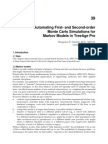 InTech-Automating First and Second Order Monte Carlo Simulations for Markov Models in Treeage Pro