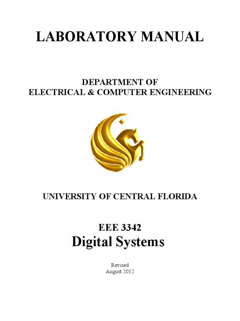 eee3342 lab manual field programmable gate array electric shock rh scribd com University of Central Florida Knights University of Central Florida Knights