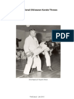 9 Traditional Karate Throws