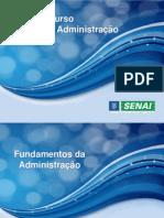 Fundamentos da Administração - Aulas
