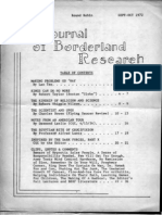 The Journal of Borderland Research 1972-09 & 10