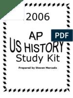 AP US HISTORY Study Kit