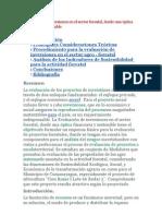 Evaluación de inversiones en el sector forestal