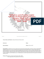 AP Calculus _345_ Audit Version Curriculum Map