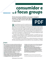 o Consumidor e Os Focus Groups