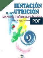 Alimentación y nutrición; Manual teórico-práctico