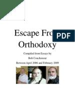 Escape From Orthodoxy - Bob Couchenour