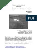 CAPITALISMO Y DESHUMANIZACIÓN. NOTAS DE CLASE