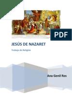 JESUS DE NAZARET TRABAJO RELIGIÓN