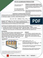Aluminium Extraction Cram Sheet