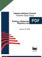 Building a Modernized Financial Regulatory System