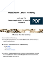 Ch 3 Measures of Central Tendency s 13