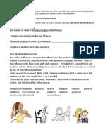 Practice Exam Examen I Los Verbos Reflexivos