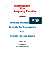 The Case for Maryland's Property Assessment and Tax Reform
