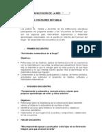 ACTIVIDADES DE CAPACITACIÓN DE  LA RED resumen