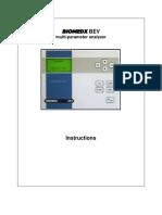 Biomedx BEV Manual LCD Model