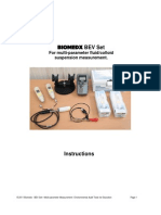 Biomedx BEV Set Manual