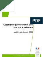 Calendrier Infoconcours 2013 Concours Externes Cle16d54a