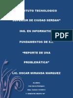 Ivan Garcia Rodriguez Problematica